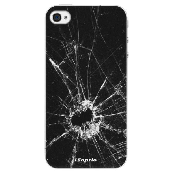 Plastové pouzdro iSaprio - Broken Glass 10 - iPhone 4/4S
