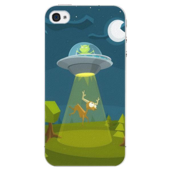 Plastové pouzdro iSaprio - Alien 01 - iPhone 4/4S