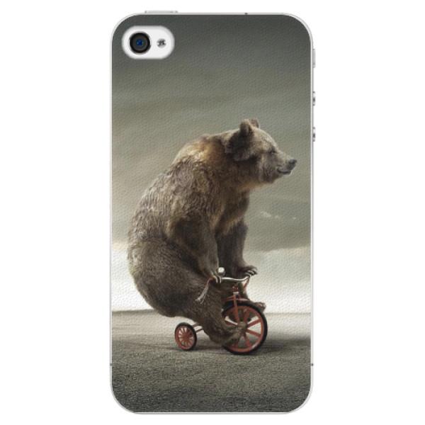Plastové pouzdro iSaprio - Bear 01 - iPhone 4/4S