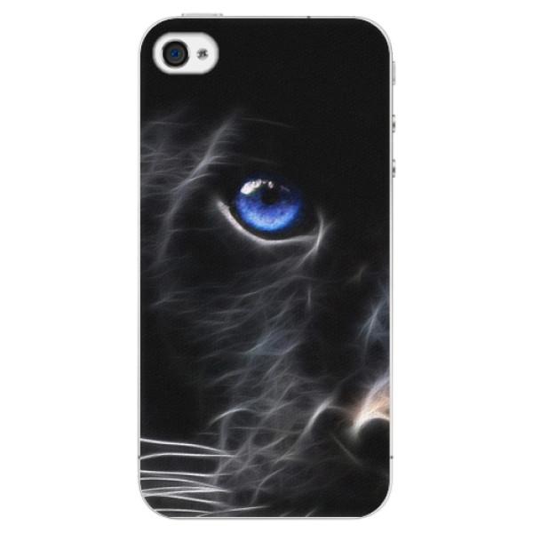 Plastové pouzdro iSaprio - Black Puma - iPhone 4/4S