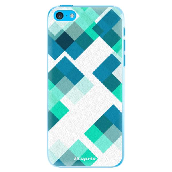 Plastové pouzdro iSaprio - Abstract Squares 11 - iPhone 5C
