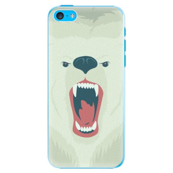 Plastové pouzdro iSaprio - Angry Bear - iPhone 5C