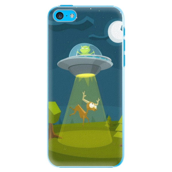 Plastové pouzdro iSaprio - Alien 01 - iPhone 5C