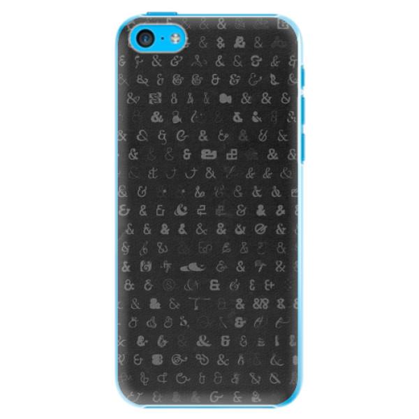 Plastové pouzdro iSaprio - Ampersand 01 - iPhone 5C