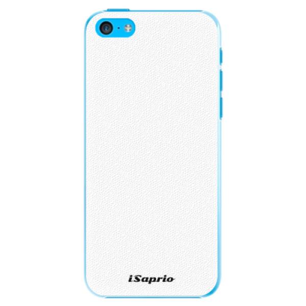 Plastové pouzdro iSaprio - 4Pure - bílý - iPhone 5C