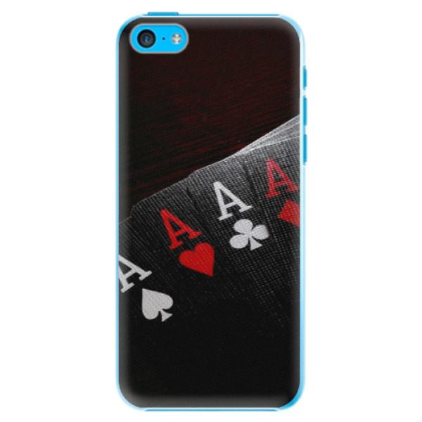 Plastové pouzdro iSaprio - Poker - iPhone 5C
