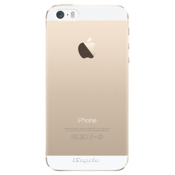 Plastové pouzdro iSaprio - 4Pure - mléčný bez potisku - iPhone 5/5S/SE