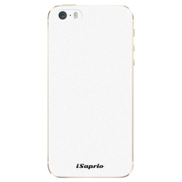 Plastové pouzdro iSaprio - 4Pure - bílý - iPhone 5/5S/SE