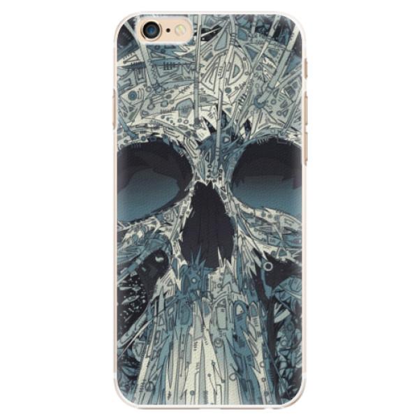 Plastové pouzdro iSaprio - Abstract Skull - iPhone 6/6S