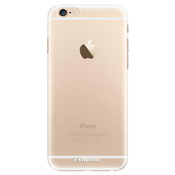 Plastové pouzdro iSaprio - 4Pure - mléčný bez potisku - iPhone 6/6S