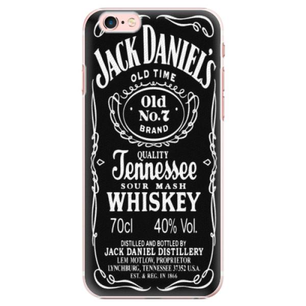 Plastové pouzdro iSaprio - Jack Daniels - iPhone 6 Plus/6S Plus