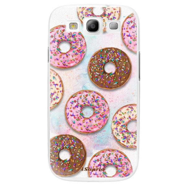 Plastové pouzdro iSaprio - Donuts 11 - Samsung Galaxy S3