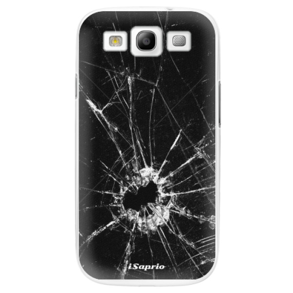 Plastové pouzdro iSaprio - Broken Glass 10 - Samsung Galaxy S3