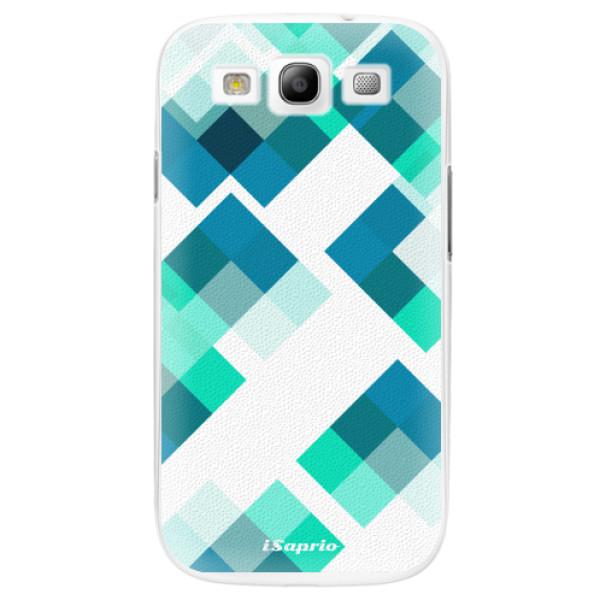 Plastové pouzdro iSaprio - Abstract Squares 11 - Samsung Galaxy S3