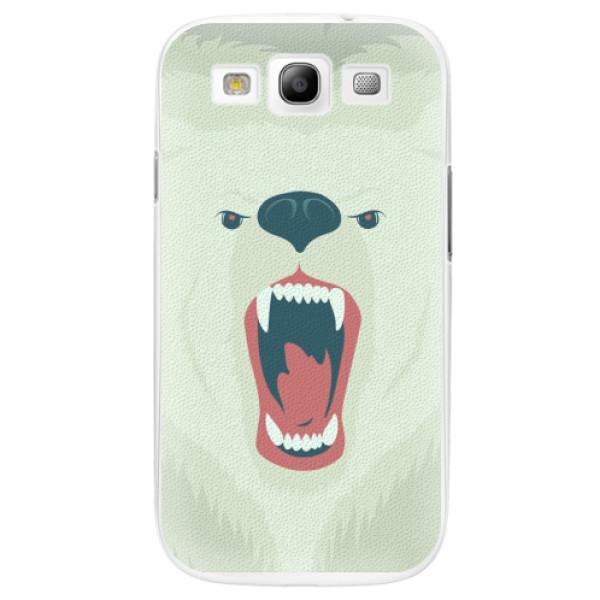 Plastové pouzdro iSaprio - Angry Bear - Samsung Galaxy S3