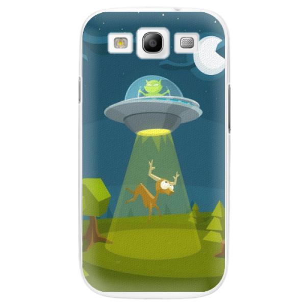 Plastové pouzdro iSaprio - Alien 01 - Samsung Galaxy S3