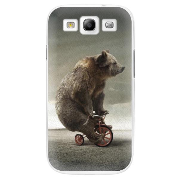 Plastové pouzdro iSaprio - Bear 01 - Samsung Galaxy S3