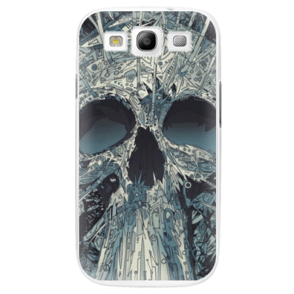 Plastové pouzdro iSaprio - Abstract Skull - Samsung Galaxy S3