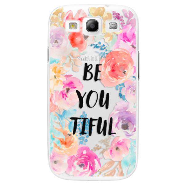 Plastové pouzdro iSaprio - BeYouTiful - Samsung Galaxy S3