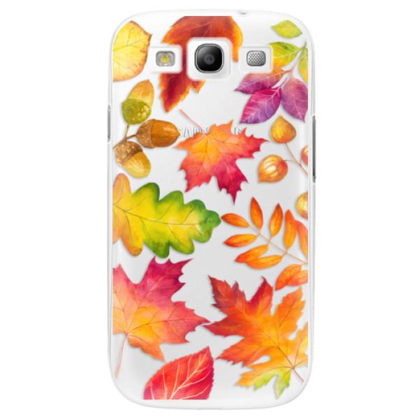 Plastové pouzdro iSaprio - Autumn Leaves 01 - Samsung Galaxy S3