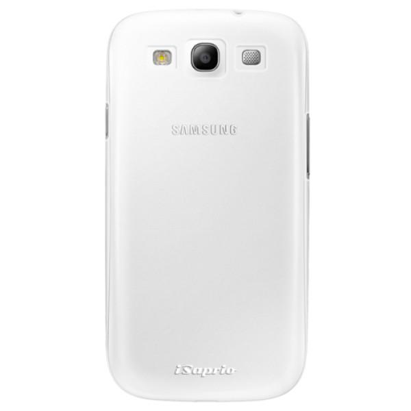 Plastové pouzdro iSaprio - 4Pure - mléčný bez potisku - Samsung Galaxy S3