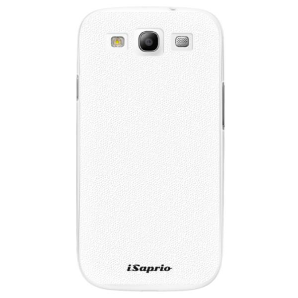 Plastové pouzdro iSaprio - 4Pure - bílý - Samsung Galaxy S3