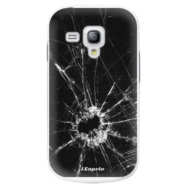 Plastové pouzdro iSaprio - Broken Glass 10 - Samsung Galaxy S3 Mini