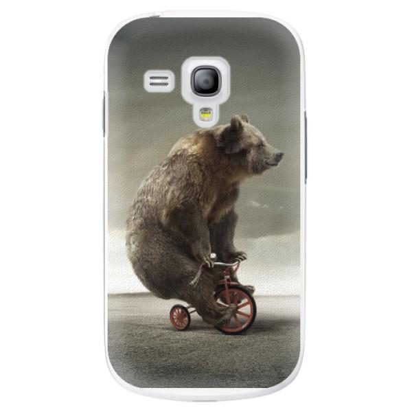 Plastové pouzdro iSaprio - Bear 01 - Samsung Galaxy S3 Mini