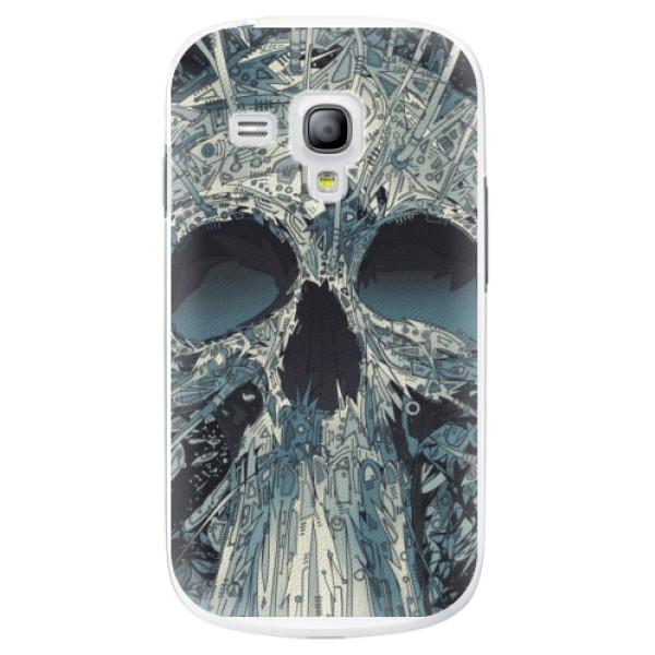 Plastové pouzdro iSaprio - Abstract Skull - Samsung Galaxy S3 Mini