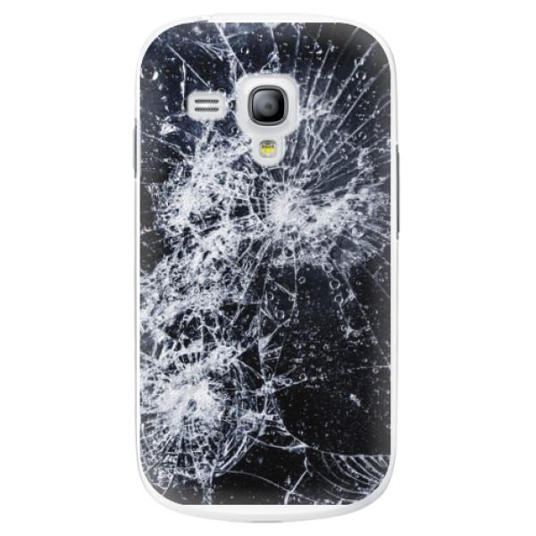 Plastové pouzdro iSaprio - Cracked - Samsung Galaxy S3 Mini