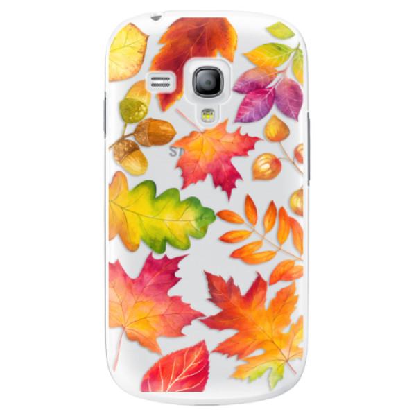 Plastové pouzdro iSaprio - Autumn Leaves 01 - Samsung Galaxy S3 Mini