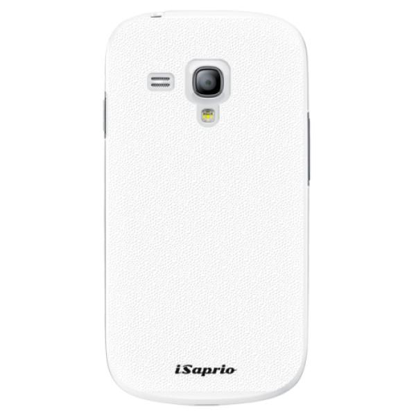 Plastové pouzdro iSaprio - 4Pure - bílý - Samsung Galaxy S3 Mini