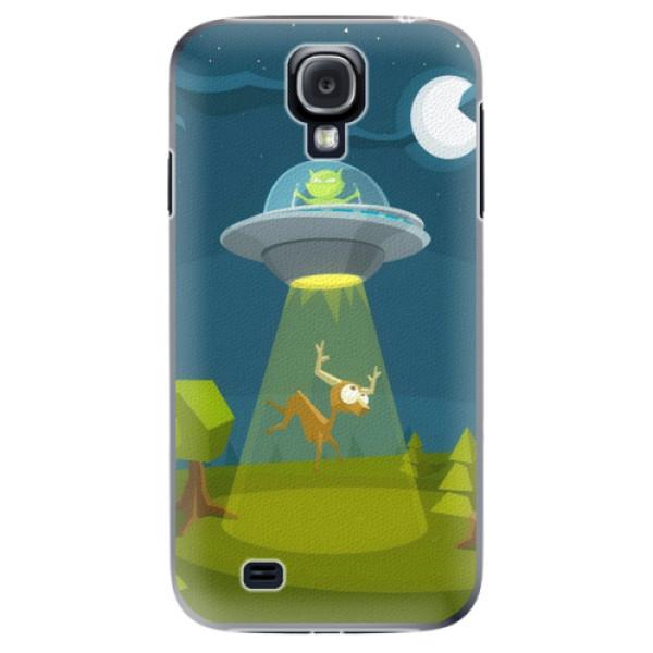 Plastové pouzdro iSaprio - Alien 01 - Samsung Galaxy S4