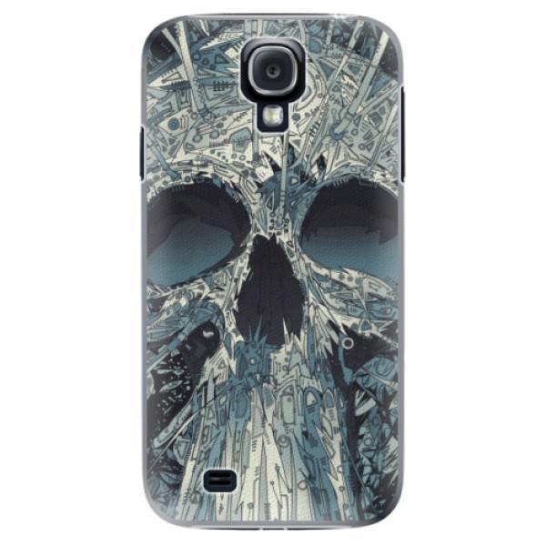 Plastové pouzdro iSaprio - Abstract Skull - Samsung Galaxy S4