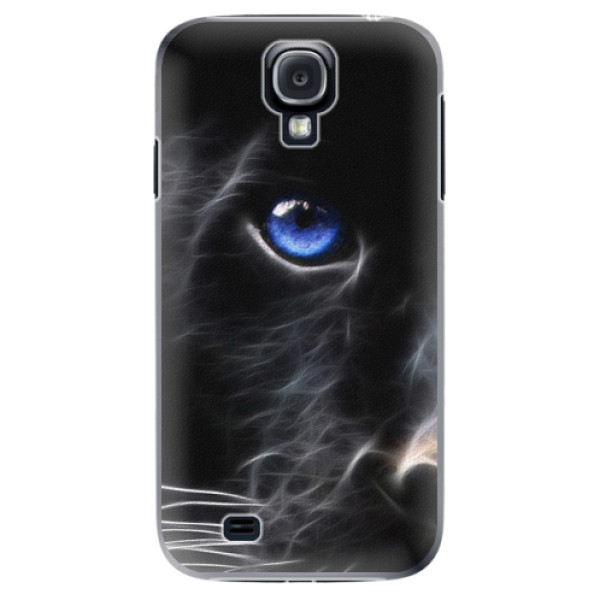 Plastové pouzdro iSaprio - Black Puma - Samsung Galaxy S4