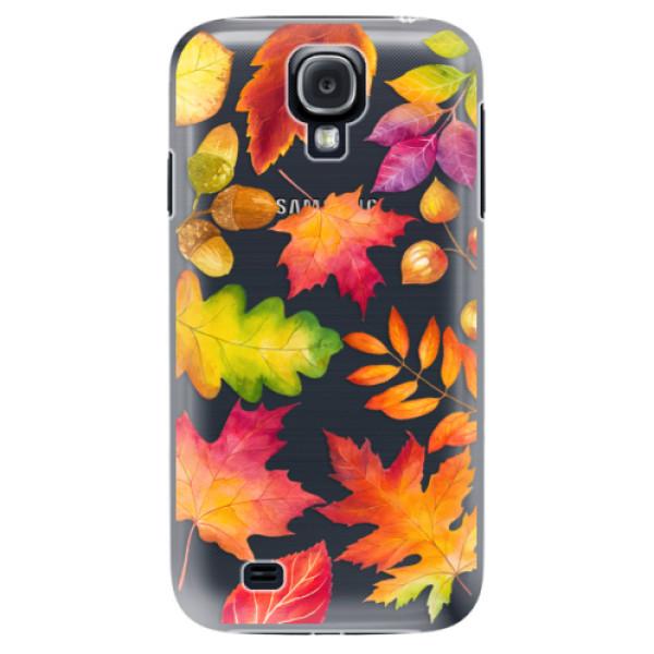 Plastové pouzdro iSaprio - Autumn Leaves 01 - Samsung Galaxy S4