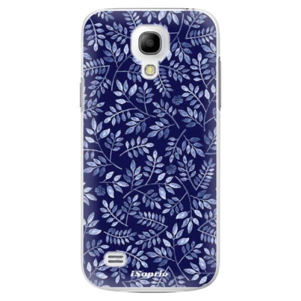 Plastové pouzdro iSaprio - Blue Leaves 05 - Samsung Galaxy S4 Mini