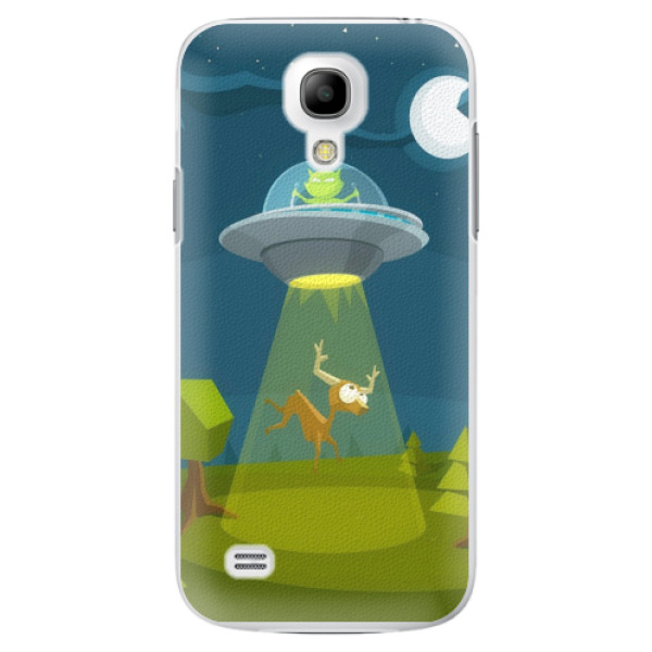 Plastové pouzdro iSaprio - Alien 01 - Samsung Galaxy S4 Mini