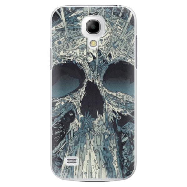Plastové pouzdro iSaprio - Abstract Skull - Samsung Galaxy S4 Mini