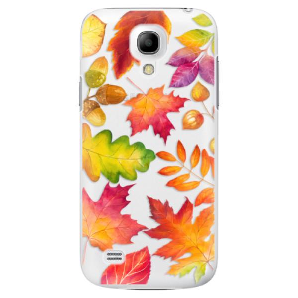Plastové pouzdro iSaprio - Autumn Leaves 01 - Samsung Galaxy S4 Mini