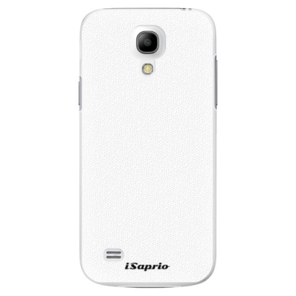 Plastové pouzdro iSaprio - 4Pure - bílý - Samsung Galaxy S4 Mini