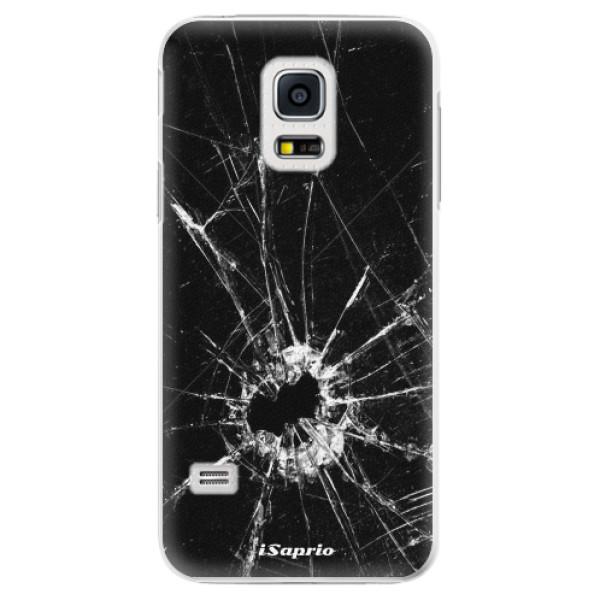 Plastové pouzdro iSaprio - Broken Glass 10 - Samsung Galaxy S5 Mini