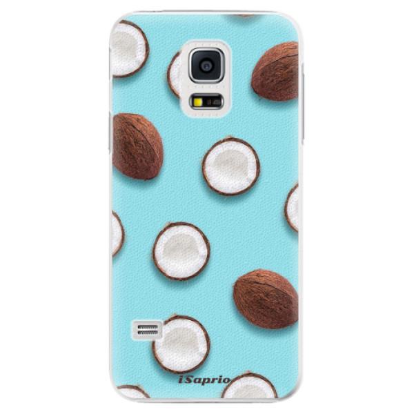 Plastové pouzdro iSaprio - Coconut 01 - Samsung Galaxy S5 Mini