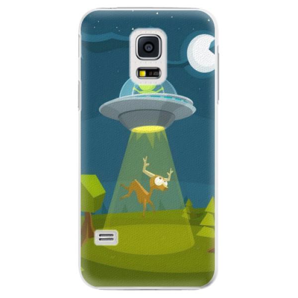 Plastové pouzdro iSaprio - Alien 01 - Samsung Galaxy S5 Mini