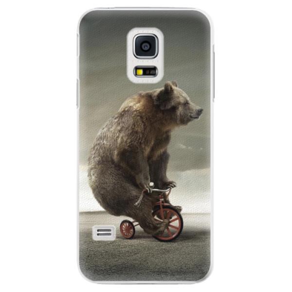 Plastové pouzdro iSaprio - Bear 01 - Samsung Galaxy S5 Mini