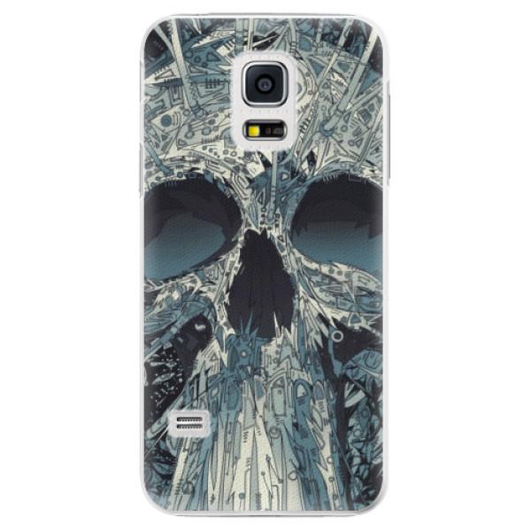 Plastové pouzdro iSaprio - Abstract Skull - Samsung Galaxy S5 Mini