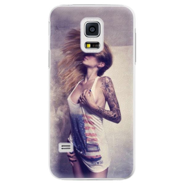 Plastové pouzdro iSaprio - Girl 01 - Samsung Galaxy S5 Mini