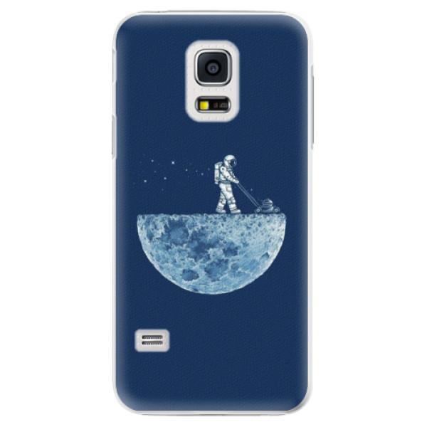 Plastové pouzdro iSaprio - Moon 01 - Samsung Galaxy S5 Mini
