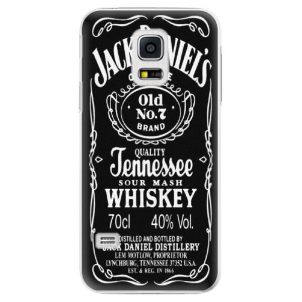 Plastové pouzdro iSaprio - Jack Daniels - Samsung Galaxy S5 Mini