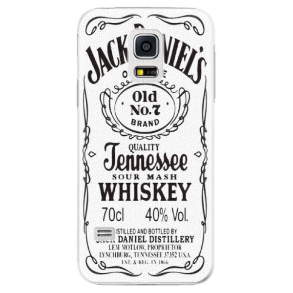 Plastové pouzdro iSaprio - Jack White - Samsung Galaxy S5 Mini